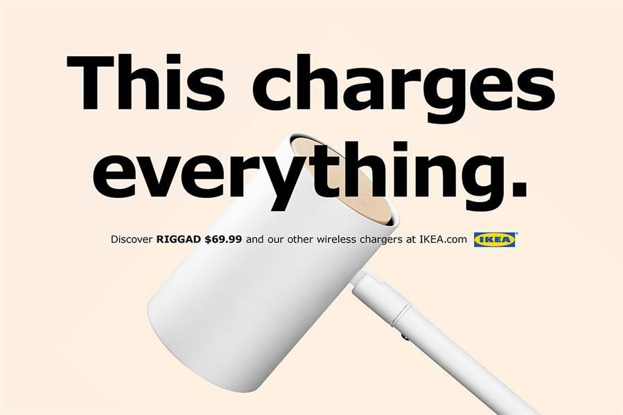 Ikea pub iPhone recharge induction