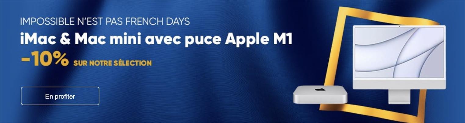 Promo iMac Mac mini M1 Fnac