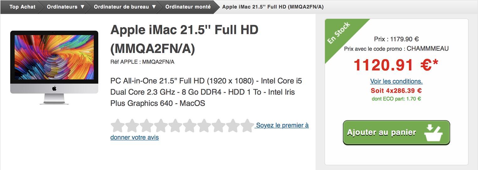 iMac Top Achat