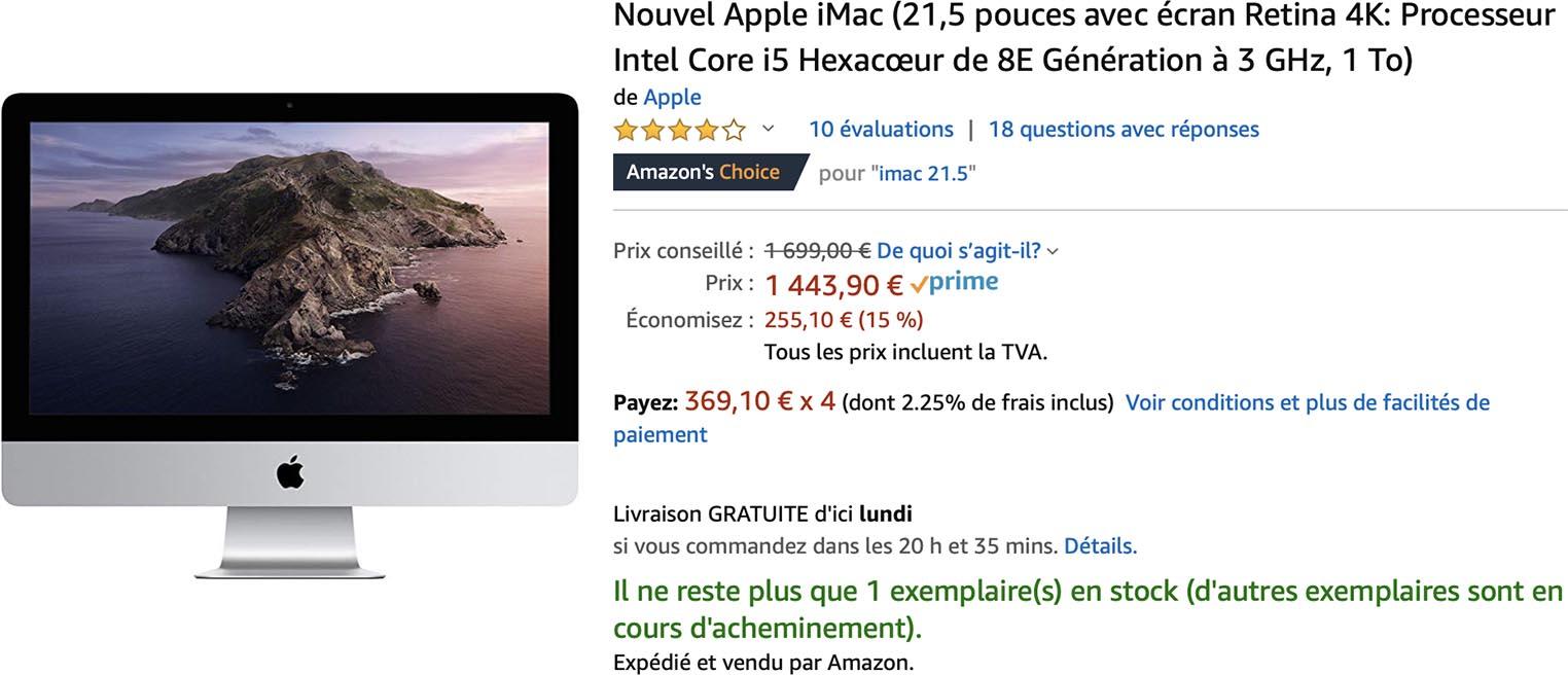 iMac 4K Amazon