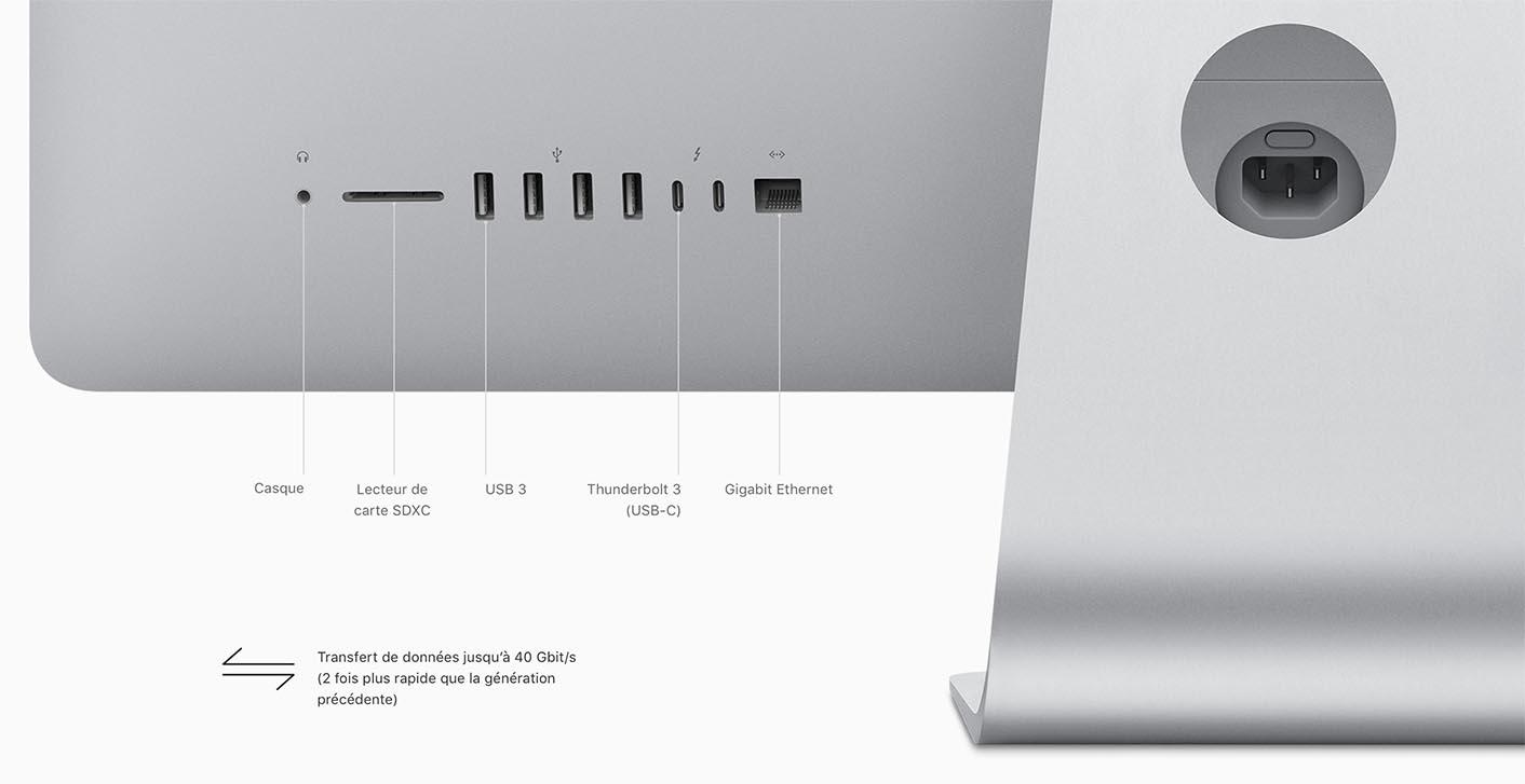 iMac 2017 Thunderbolt 3