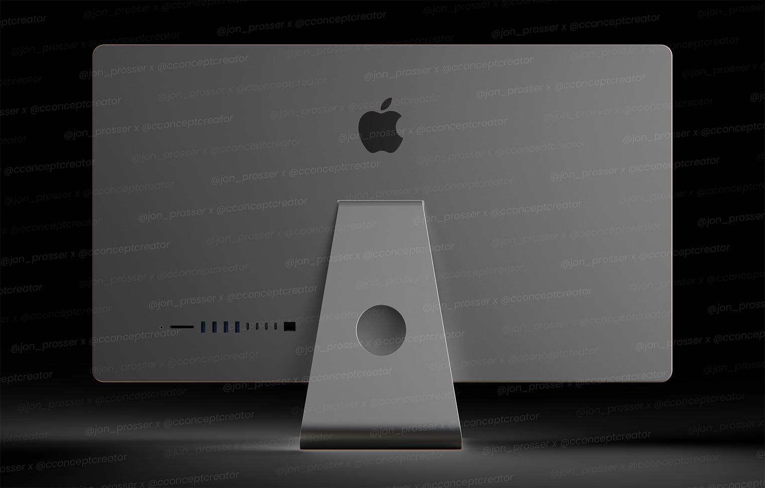 Rendu 3D iMac 2021
