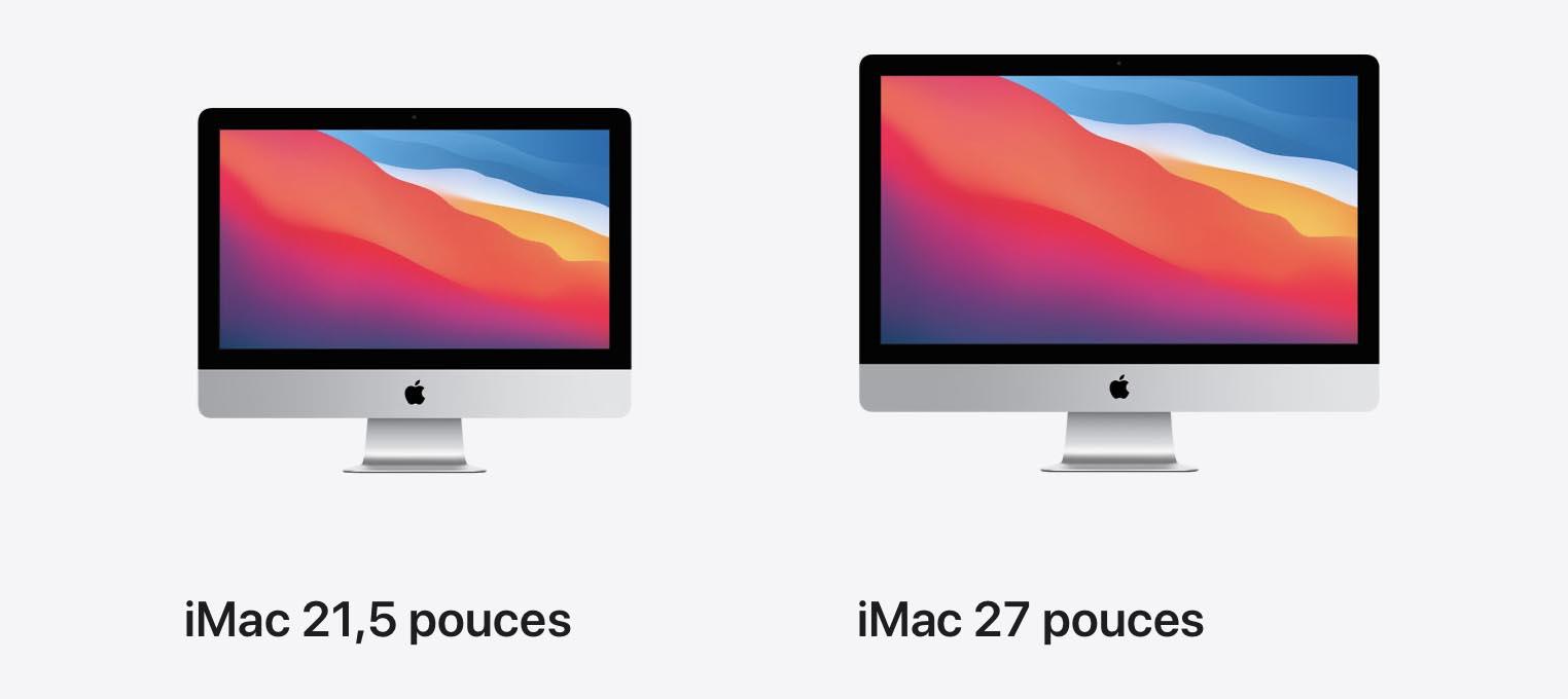 Mac 21 27 pouces