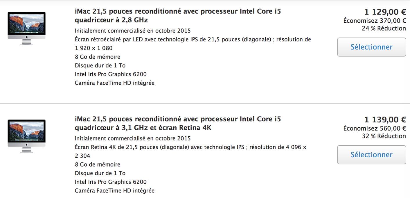 iMac 4K Refurb