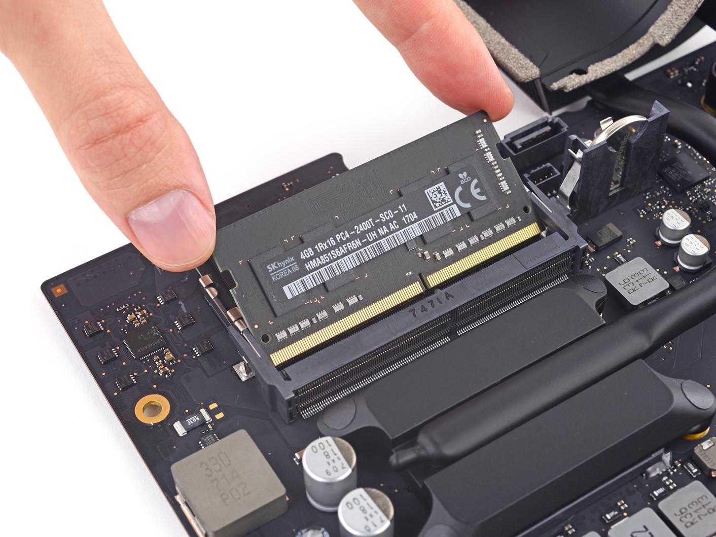 iMac 4K 2017 iFixit RAM