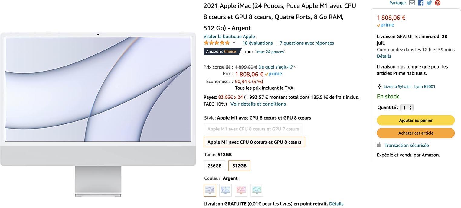 iMac M1 Amazon