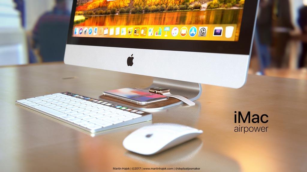 iMac AirPower concept Martin Hajek