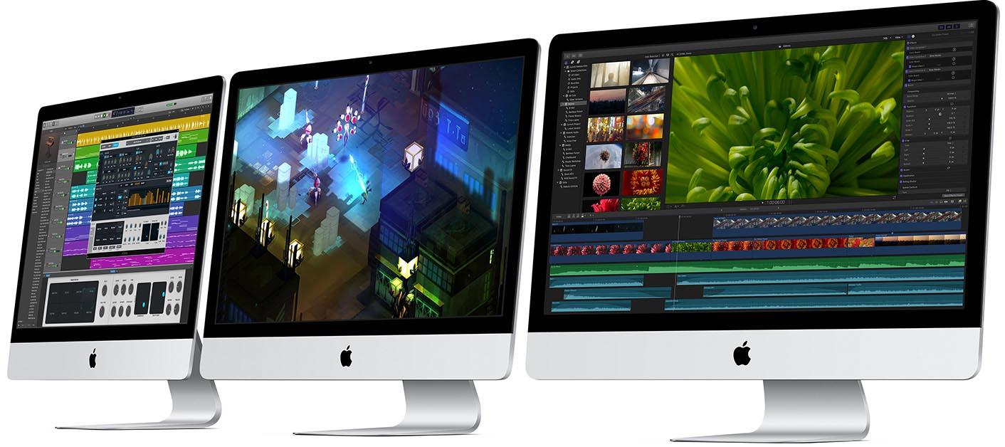 iMac gamme