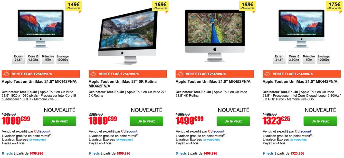 Consomac l 39 imac 2015 en vente flash - Vente flash c discount ...