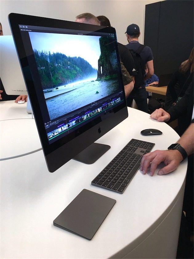 Aperçu iMac Pro
