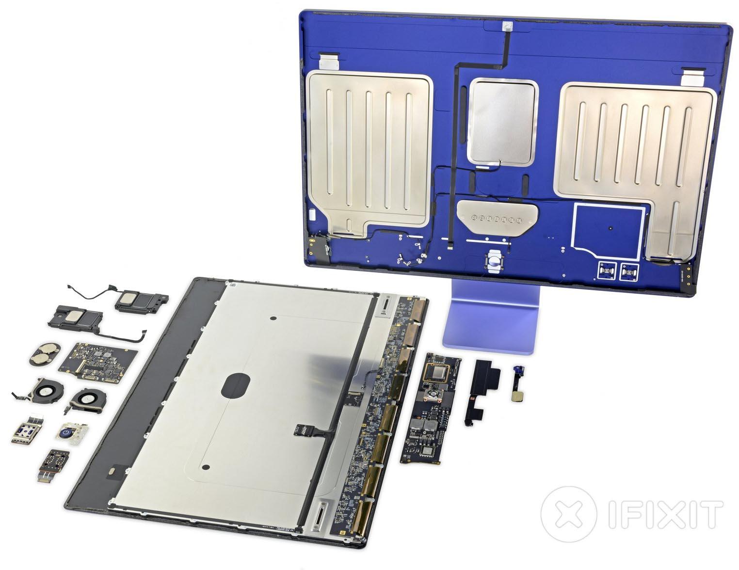 iMac M1 iFixit