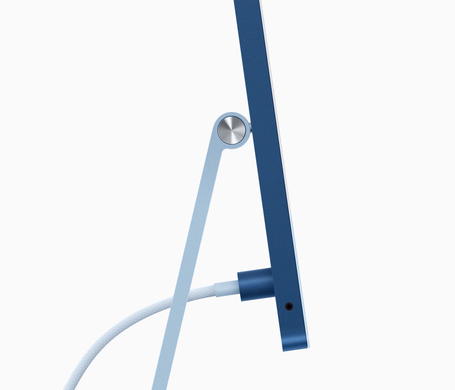 iMac M1 connecteur alimentation