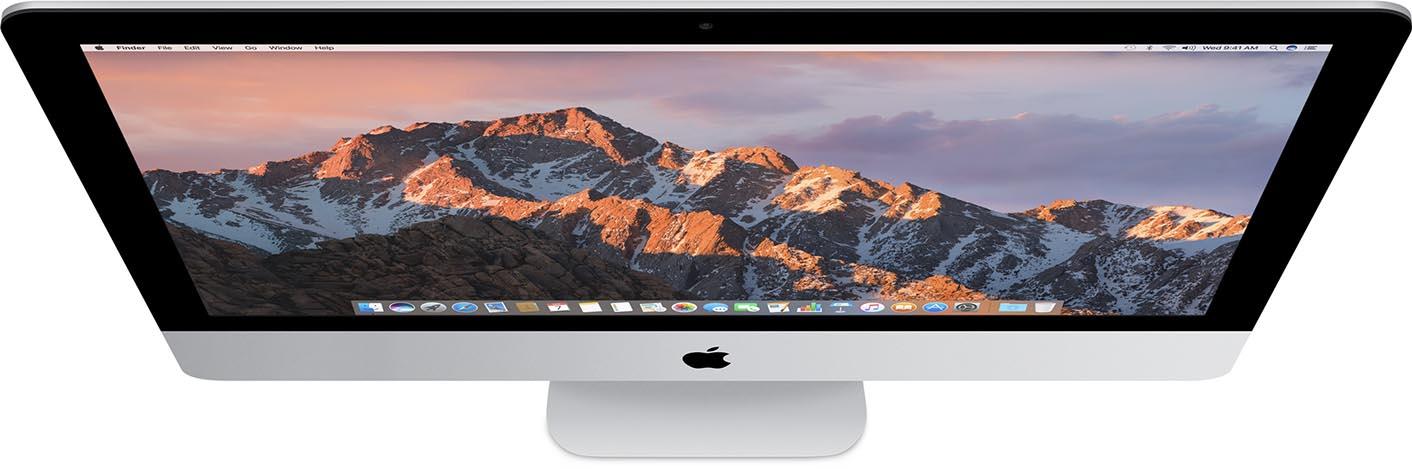 iMac top