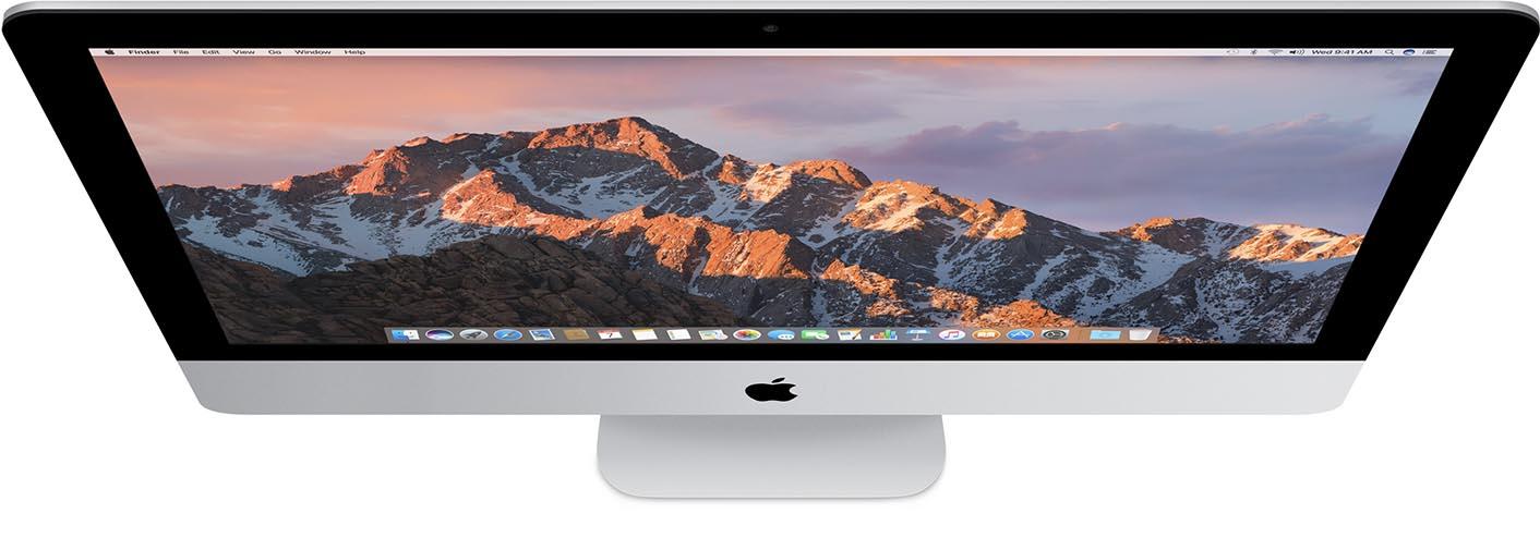 iMac 2016 top