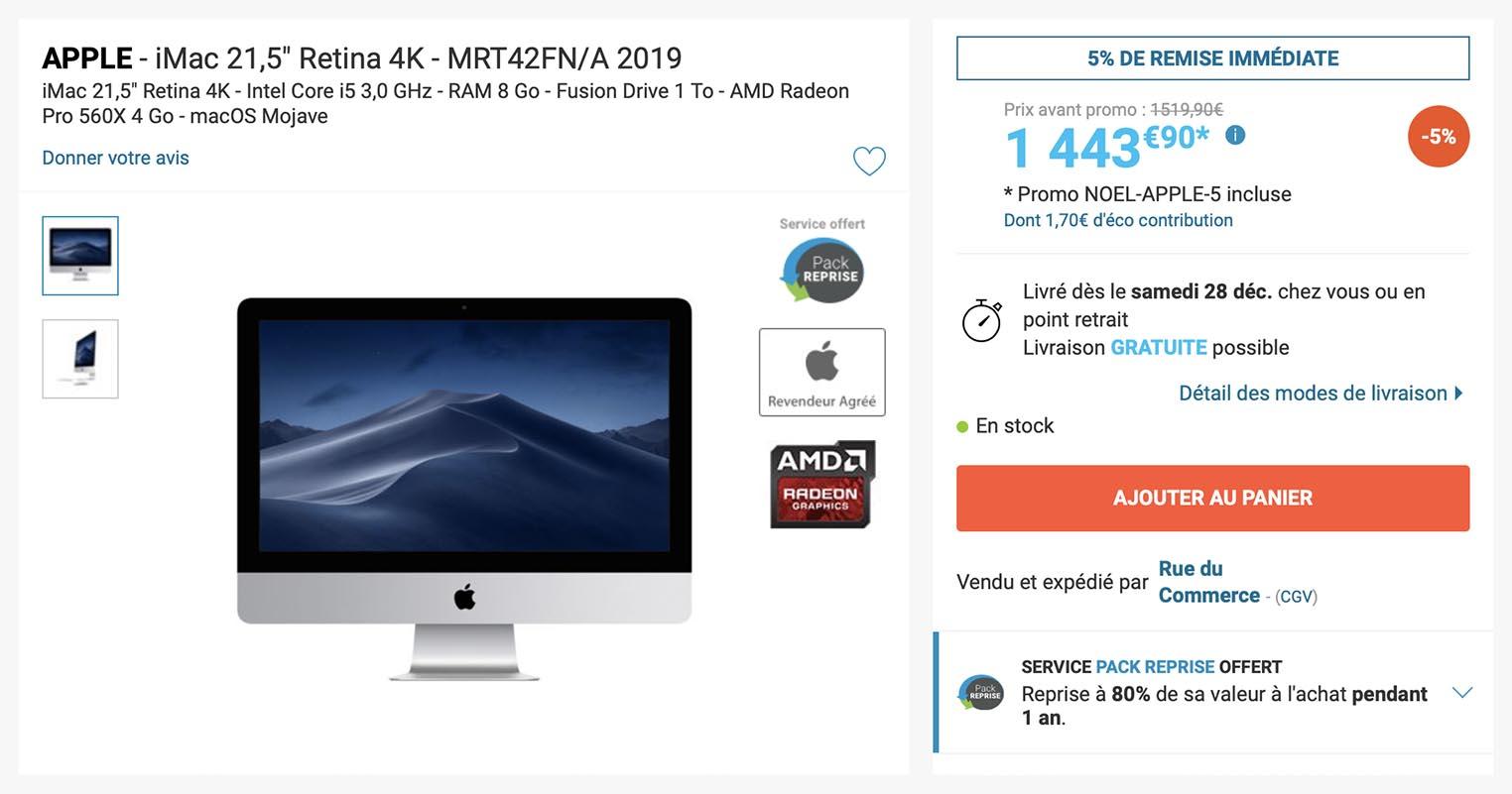 iMac Rue du Commerce