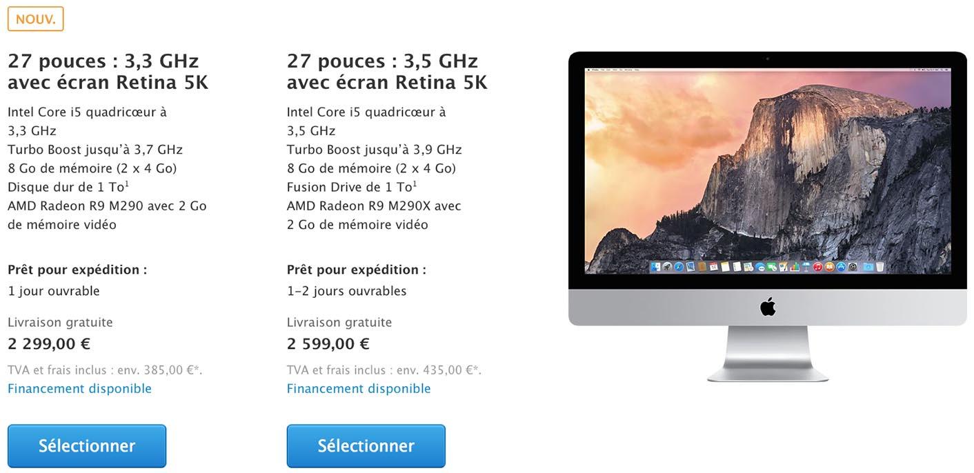 iMac Retina 5K 2015