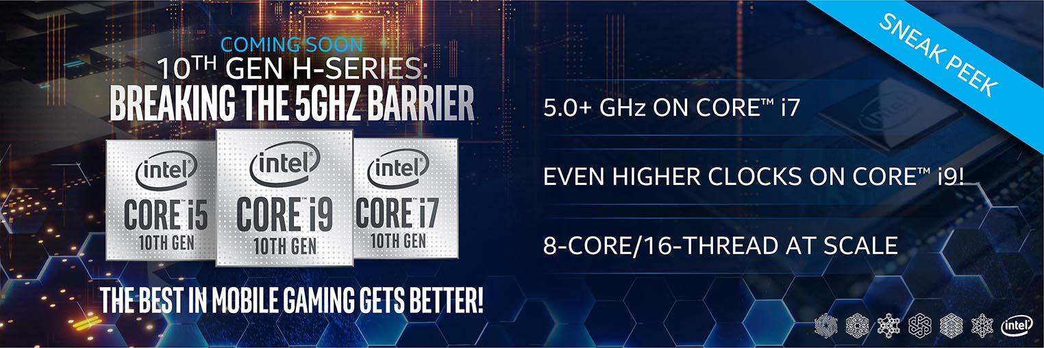 Intel 5 GHz 10th Serie H
