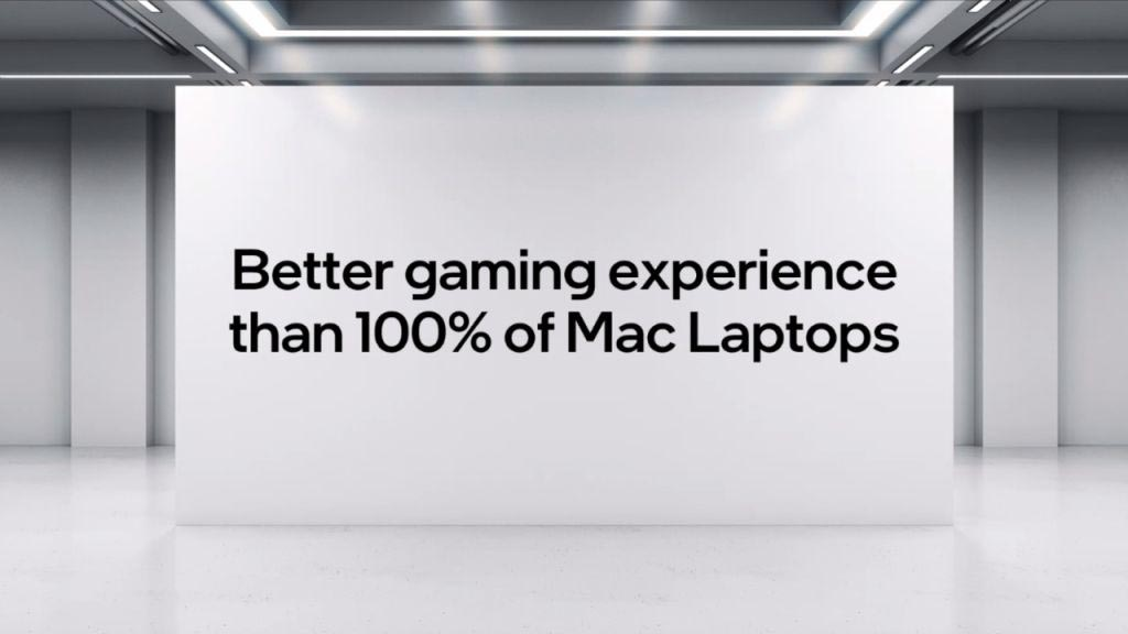 Intel comparaison MacBook Pro