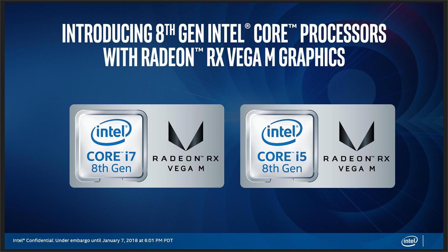 Intel Core AMD Radeon