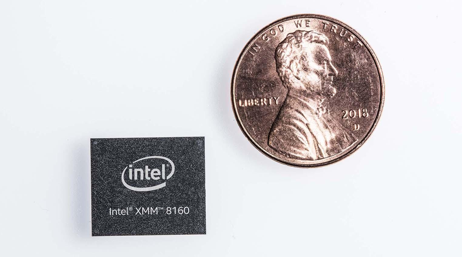 Intel modem 5G XMM 8160