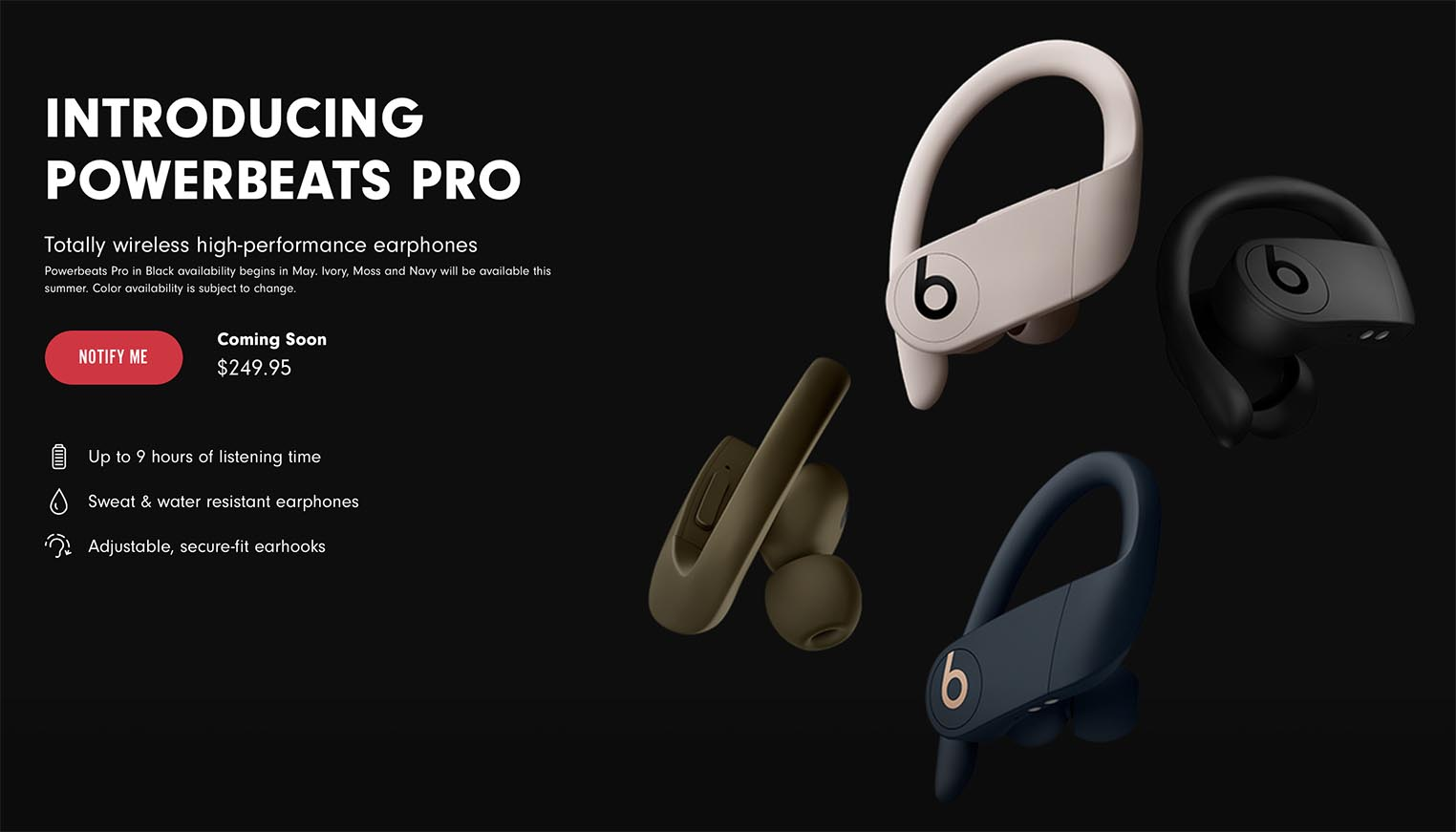 Introducing Powerbeats Pro