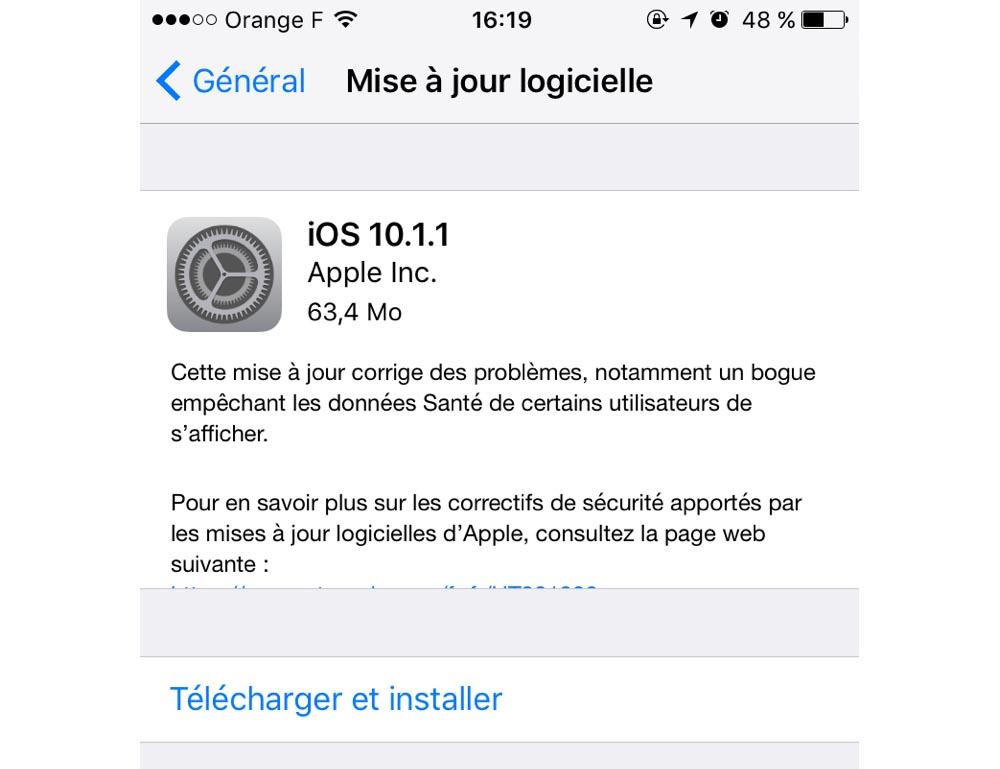 Le classement par étoiles de retour sur iOS 10.2 — Musique