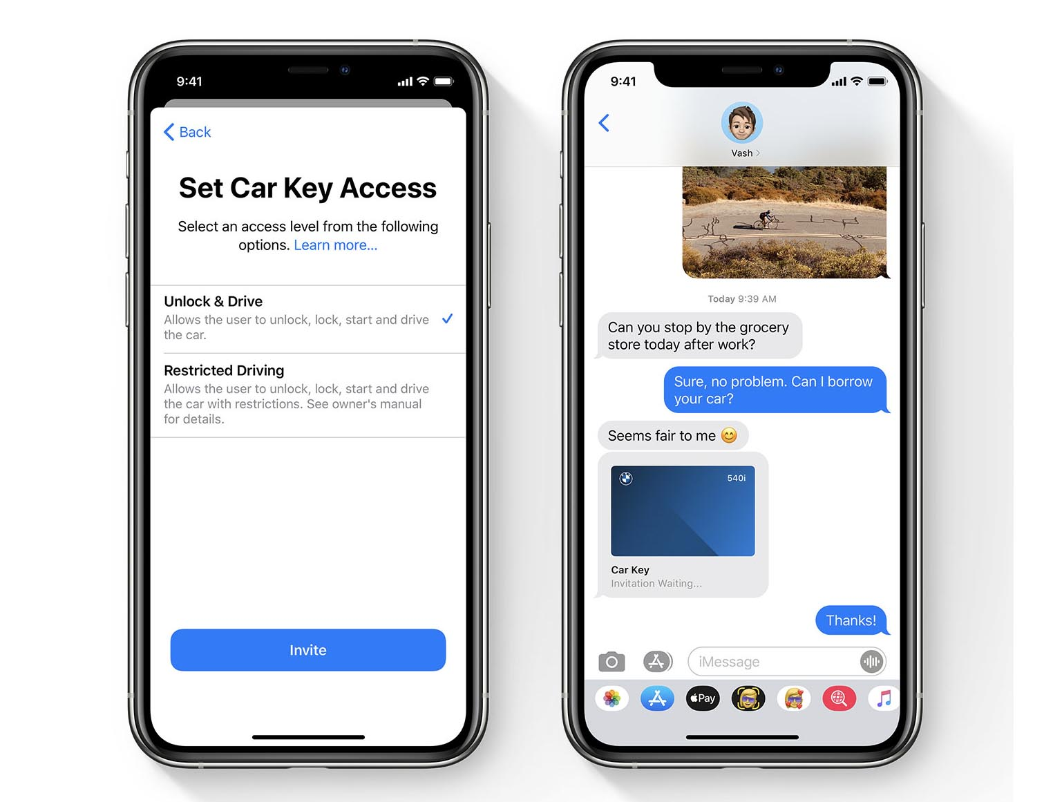 iOS 14 Car Key