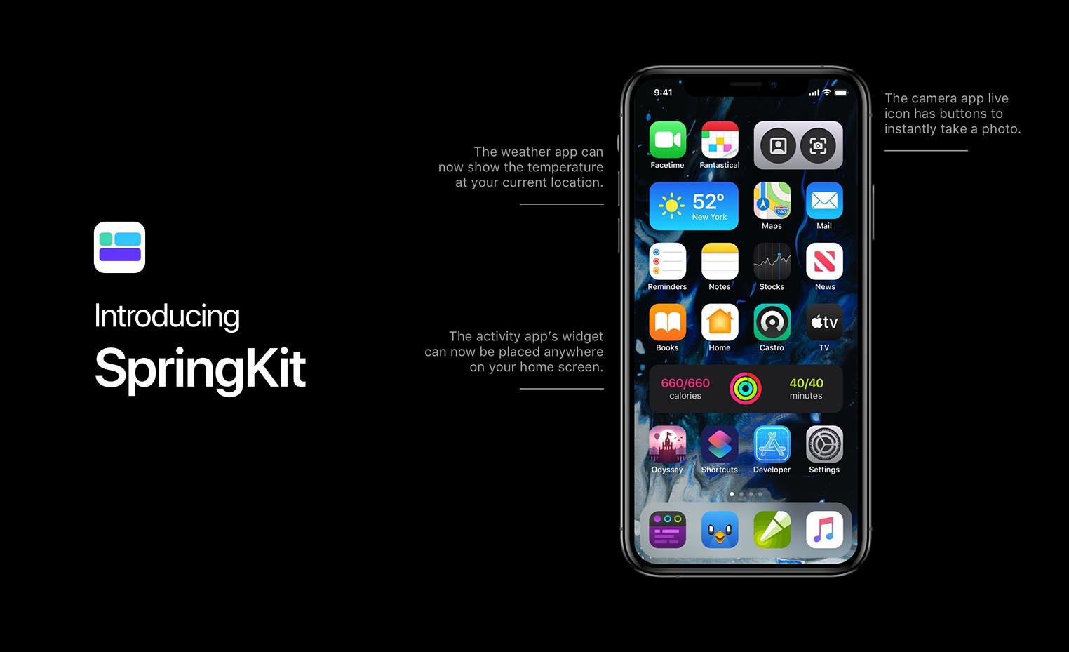 iOS 14 concept widgets