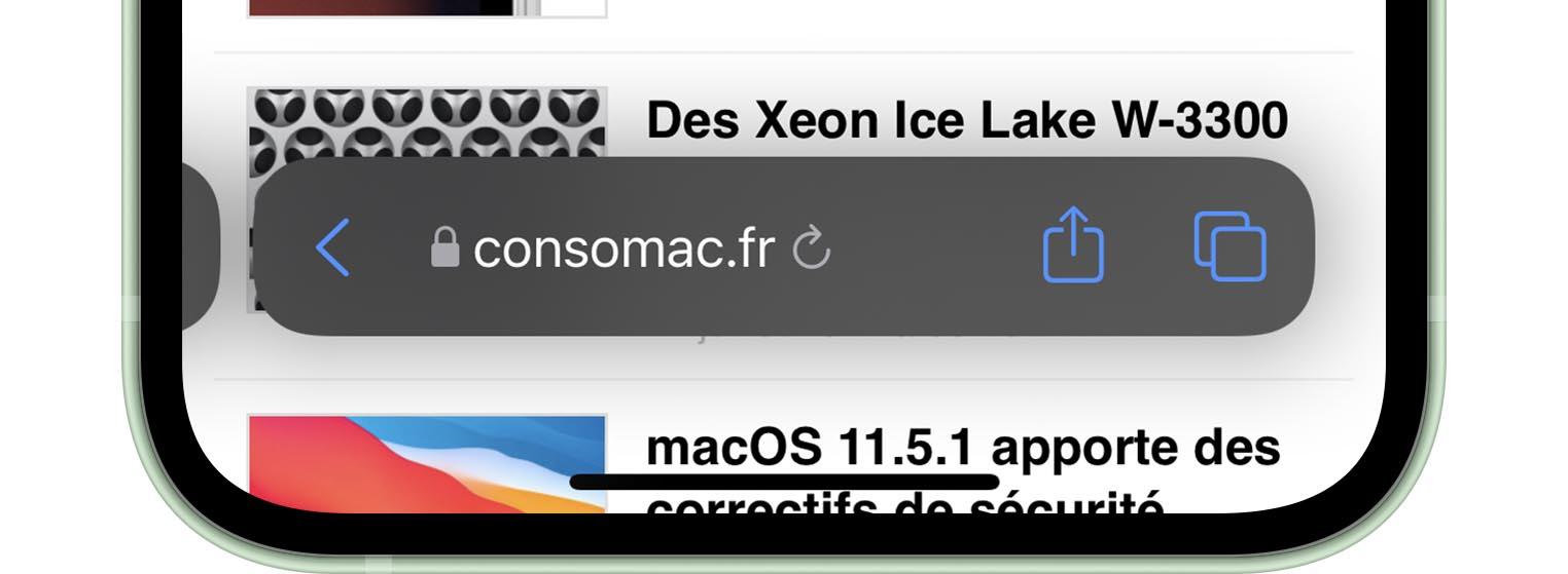 iOS 15 Bêta 4