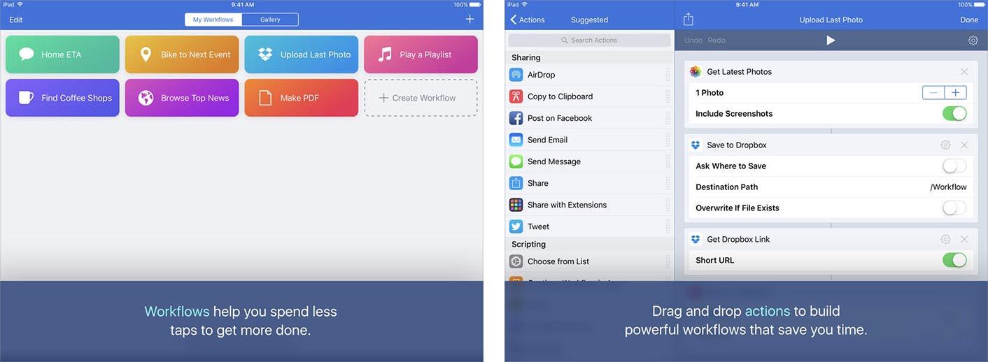 iOS Workflow