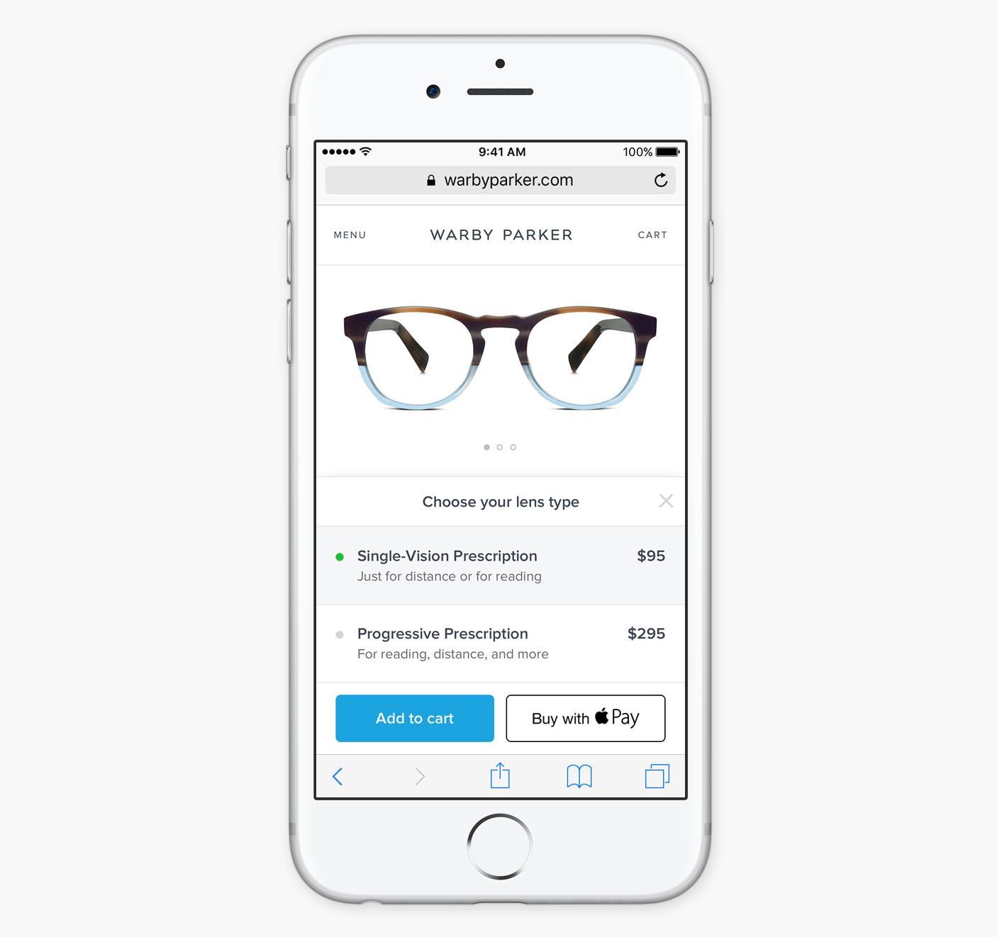 Apple Pay iOS 10 web