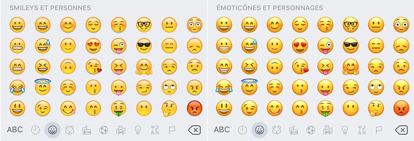 iOS 10 Emojis