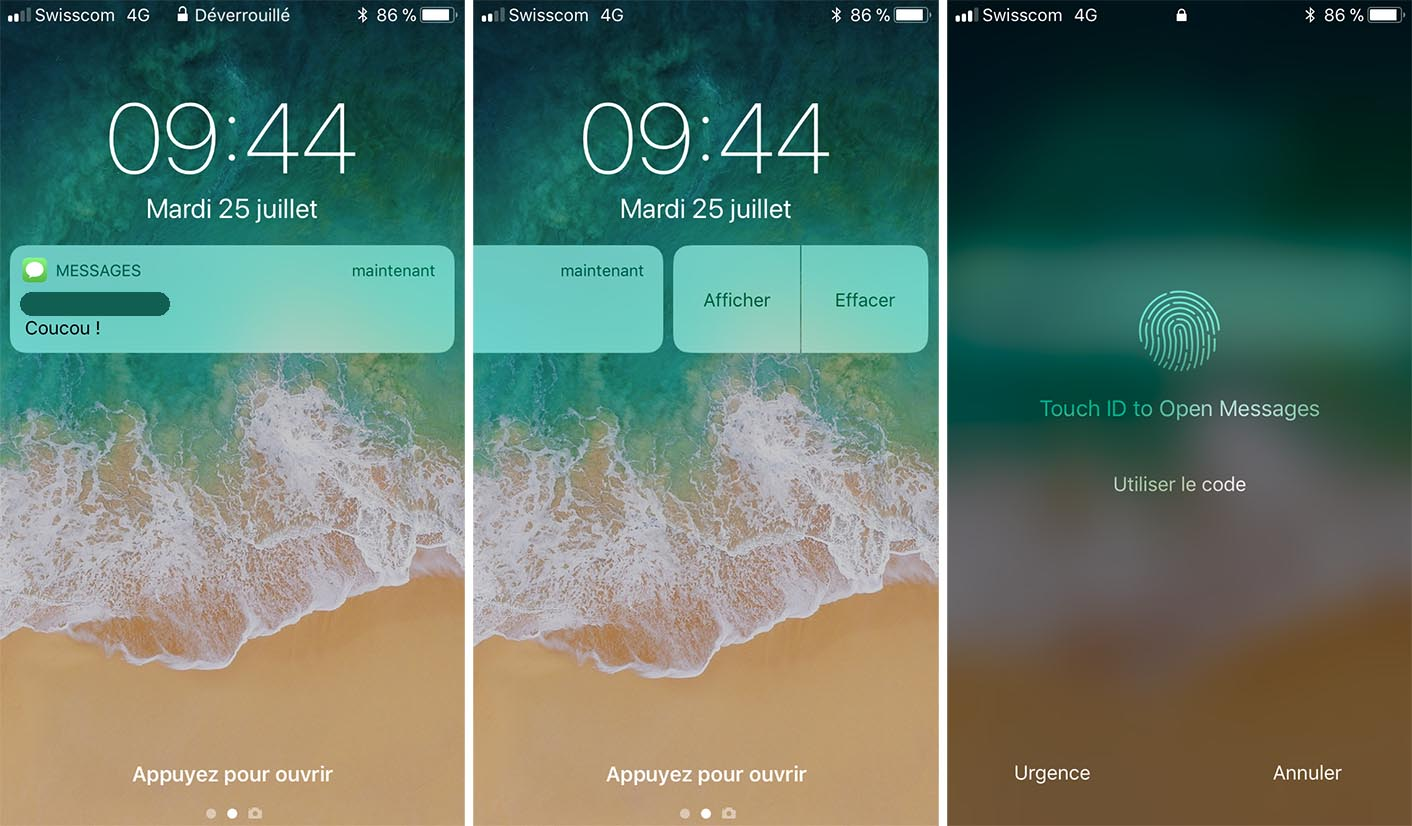 iOS 11 beta 4 Messages