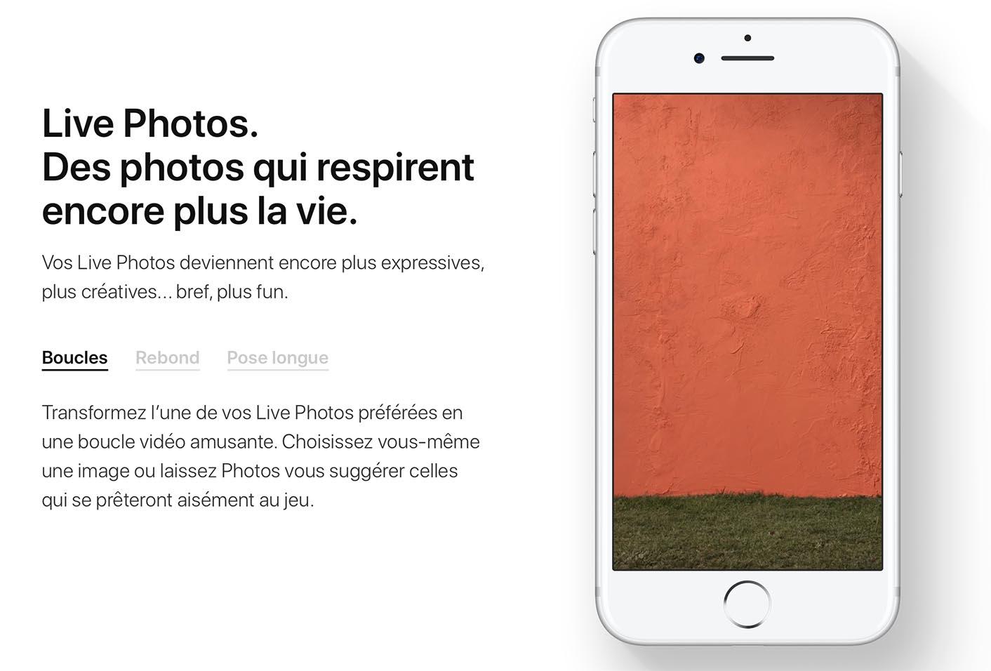 iOS 11 Live Photos