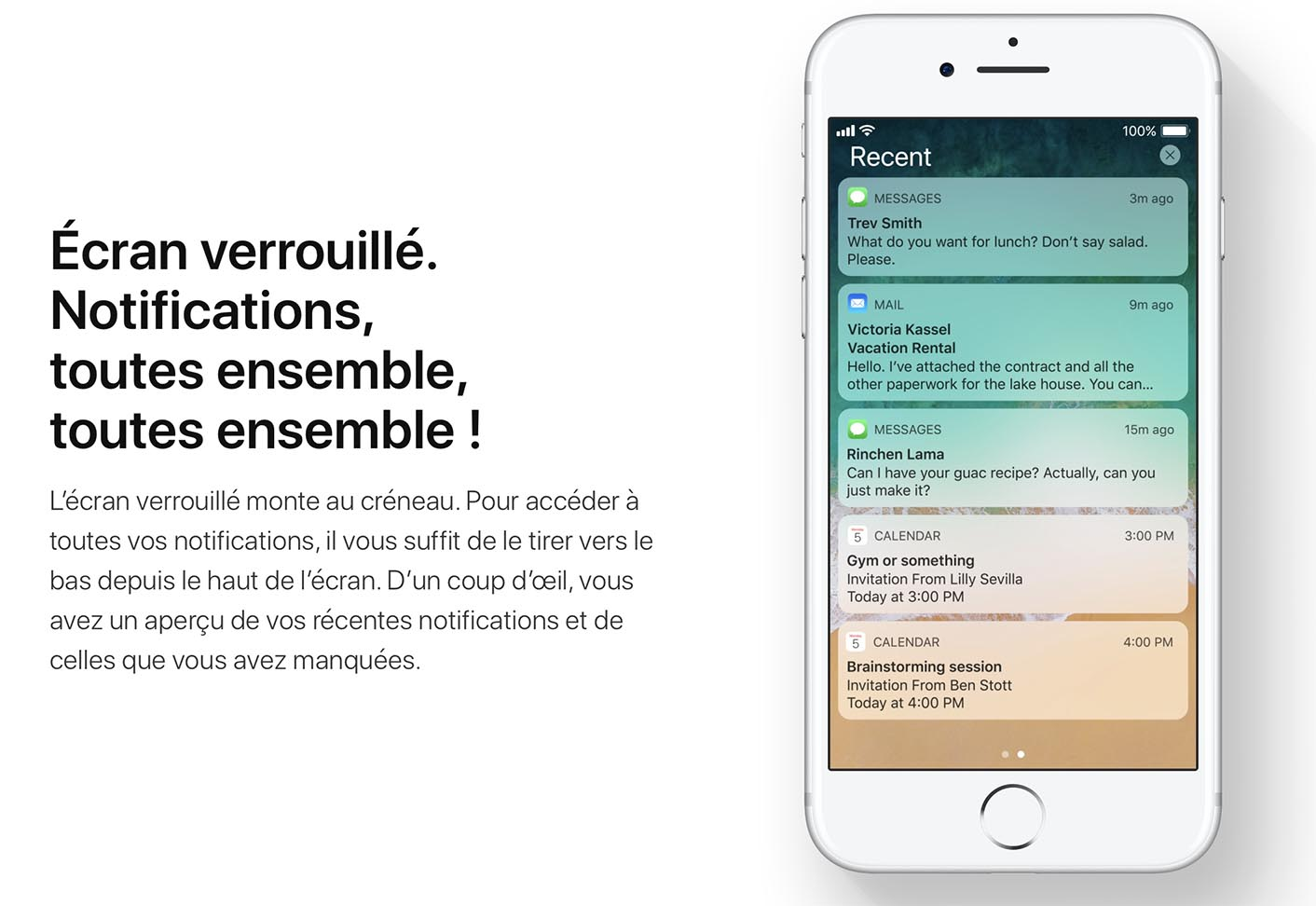 iOS 11 Notifications