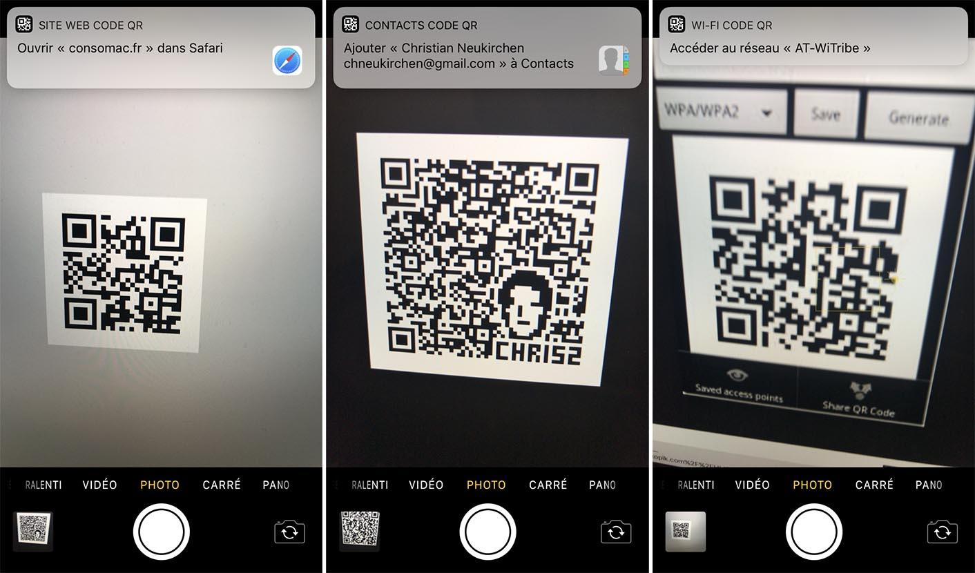 iOS 11 QR Code