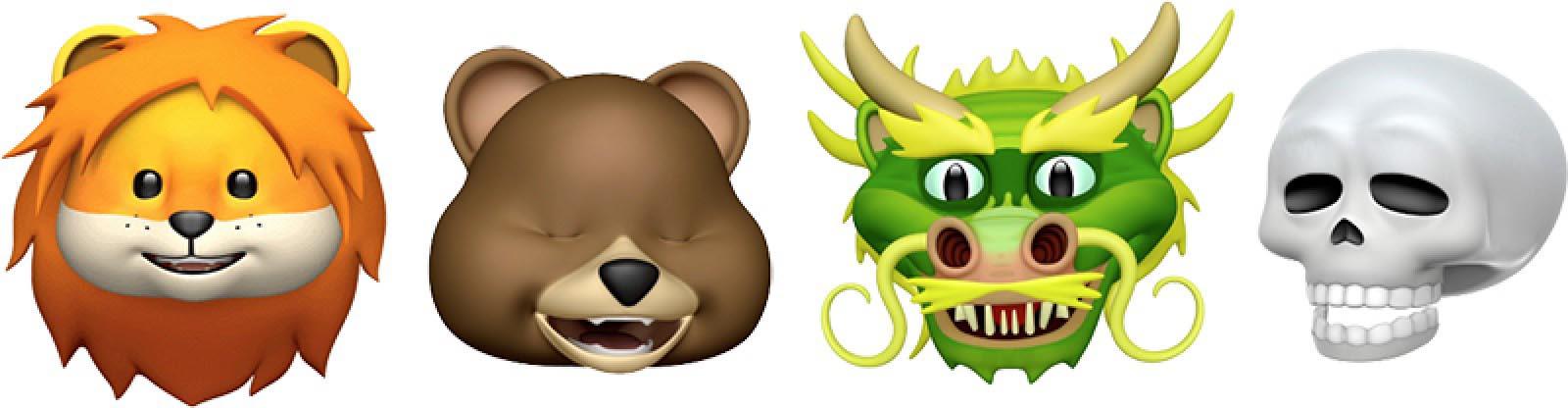 iOS 11.3 Animojis