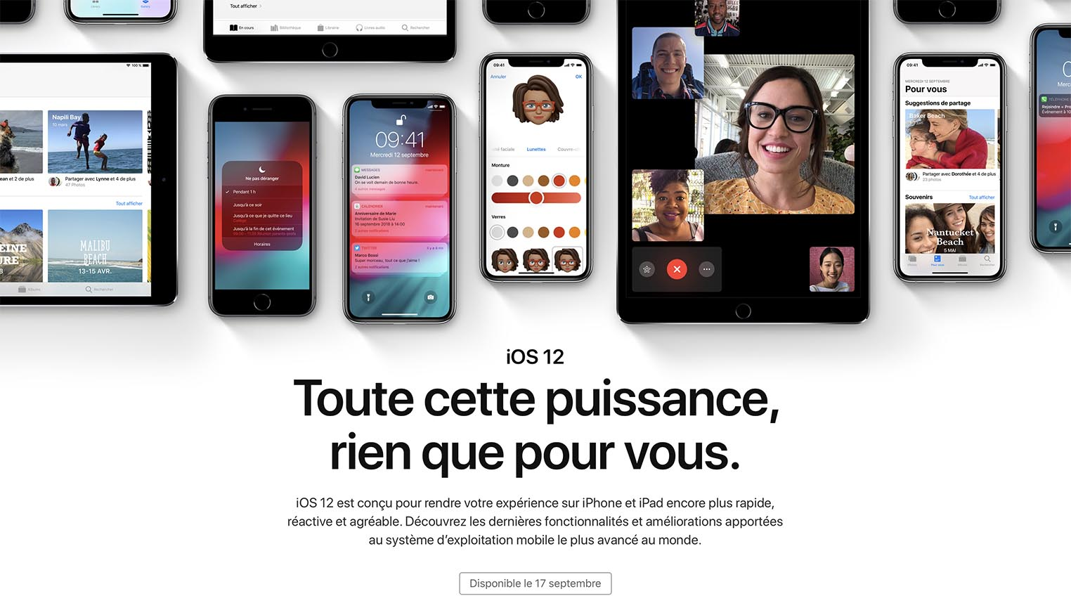 iOS 12 disponible