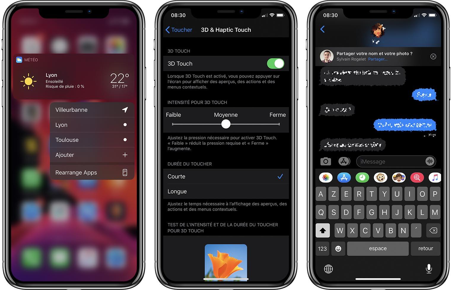 iOS 13 Bêta 4