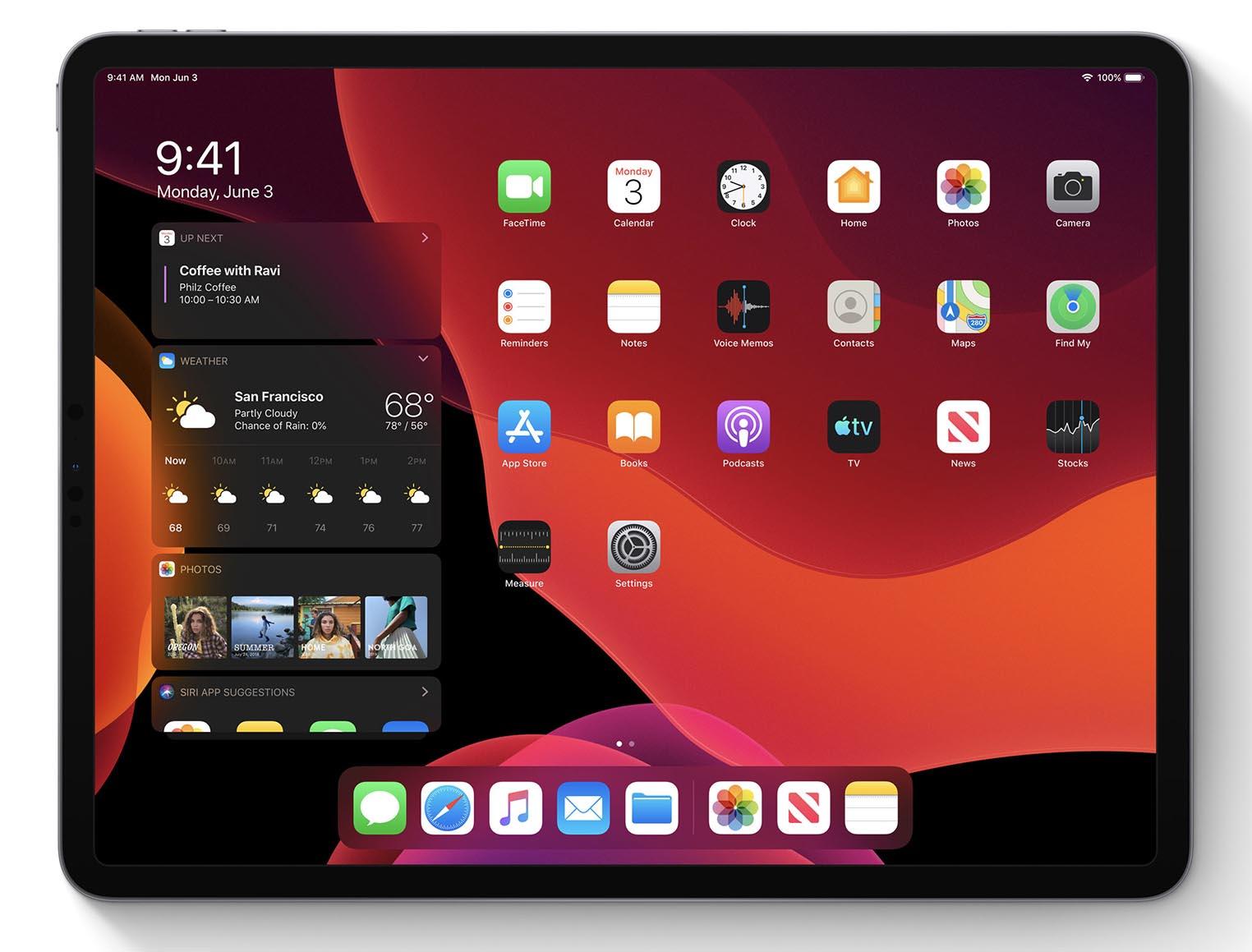 iPad OS logo