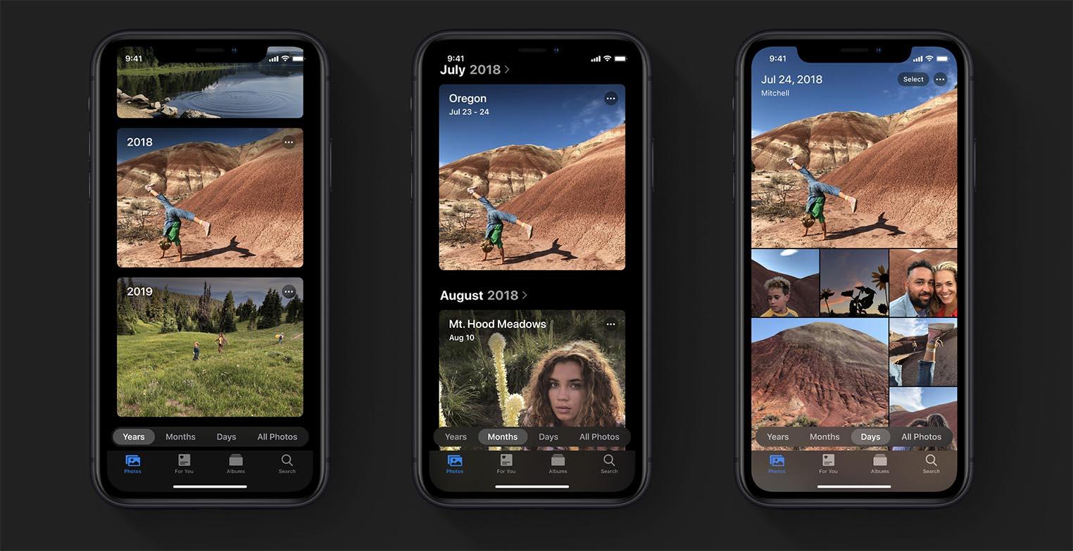 iOS 13 Photos