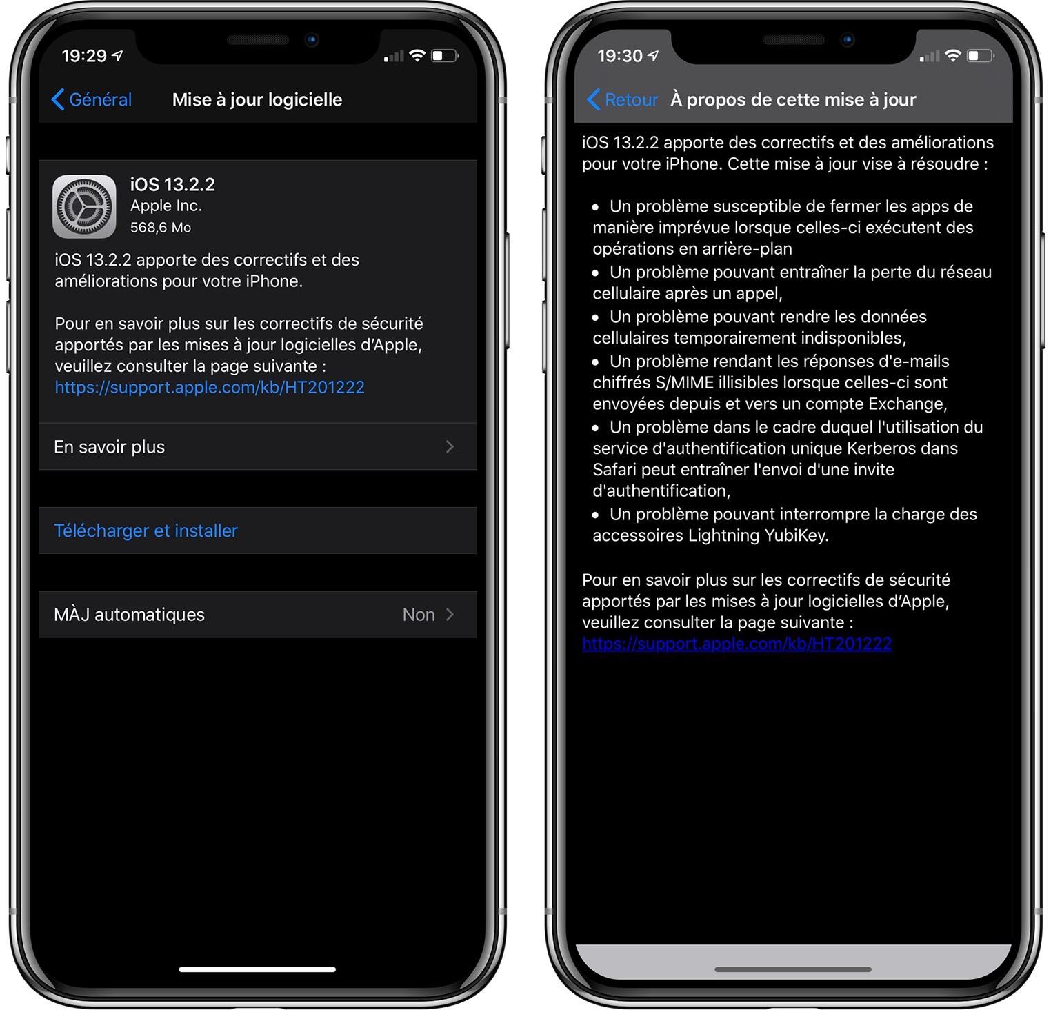 iOS 13.2.2