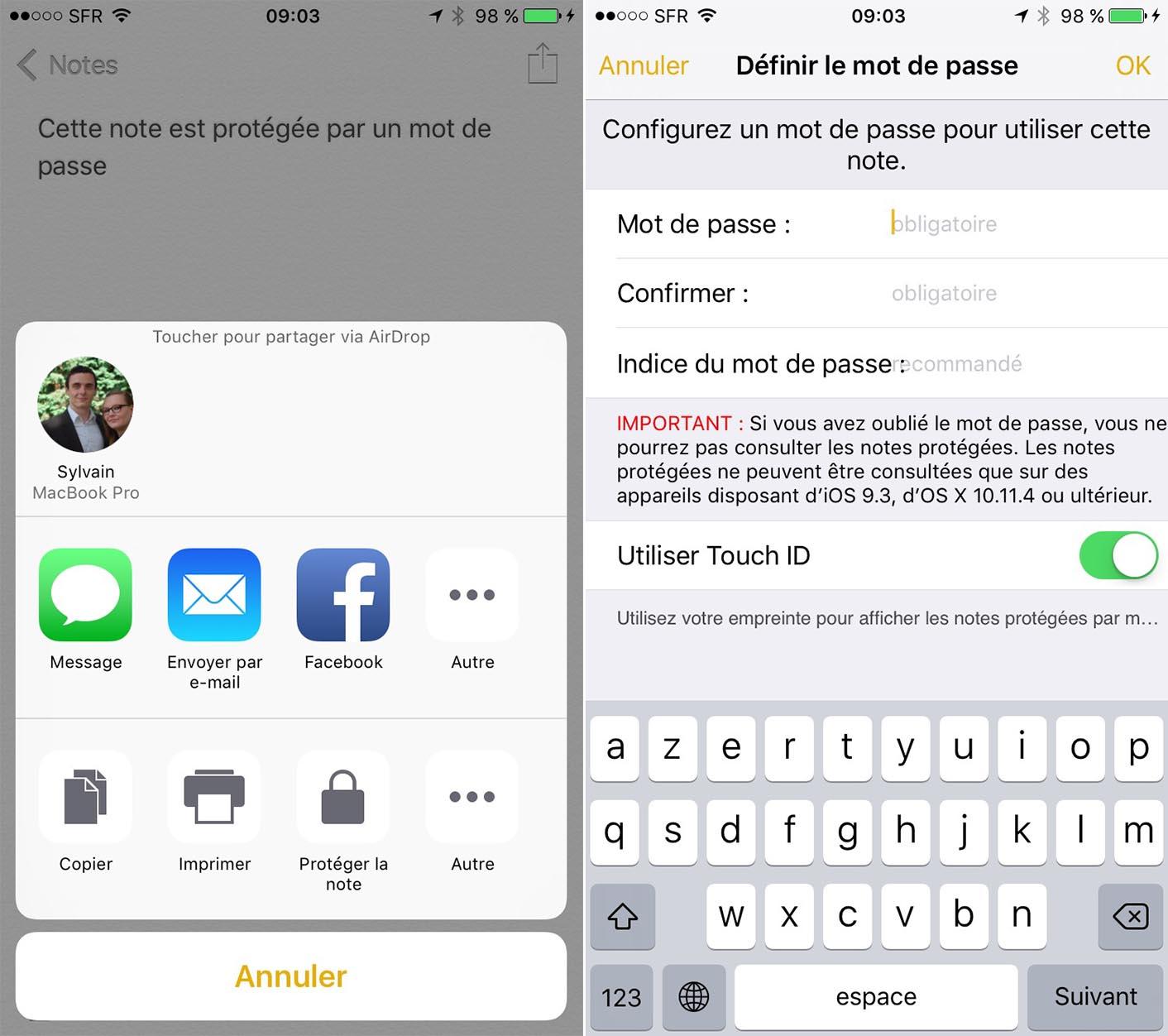 iOS 9.3 Notes