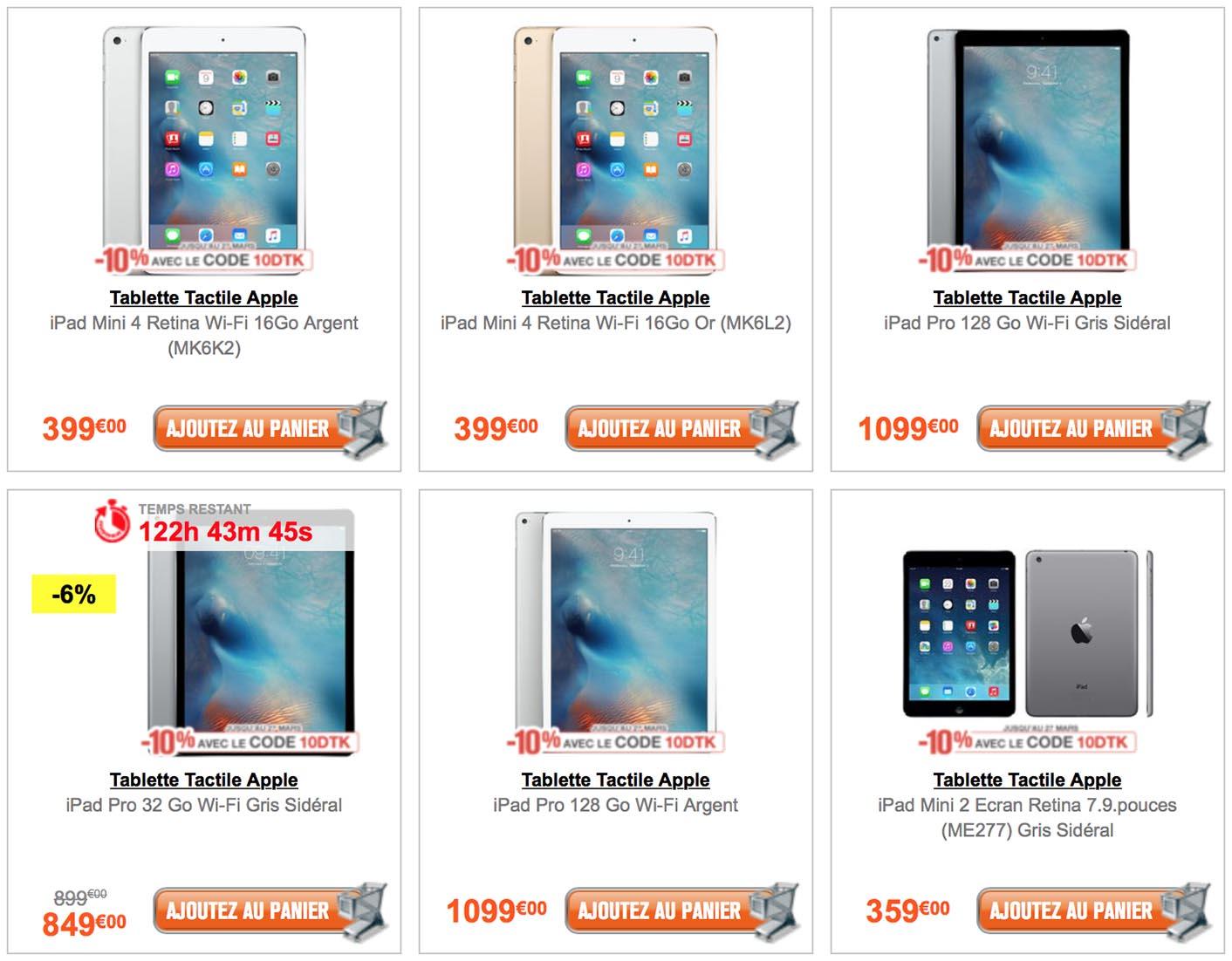 iPad GrosBill