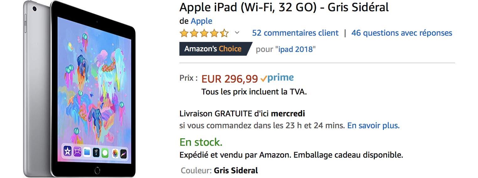 iPad 2018 Amazon