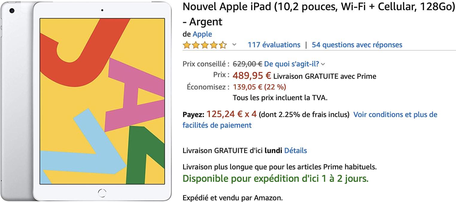 iPad 4G Amazon