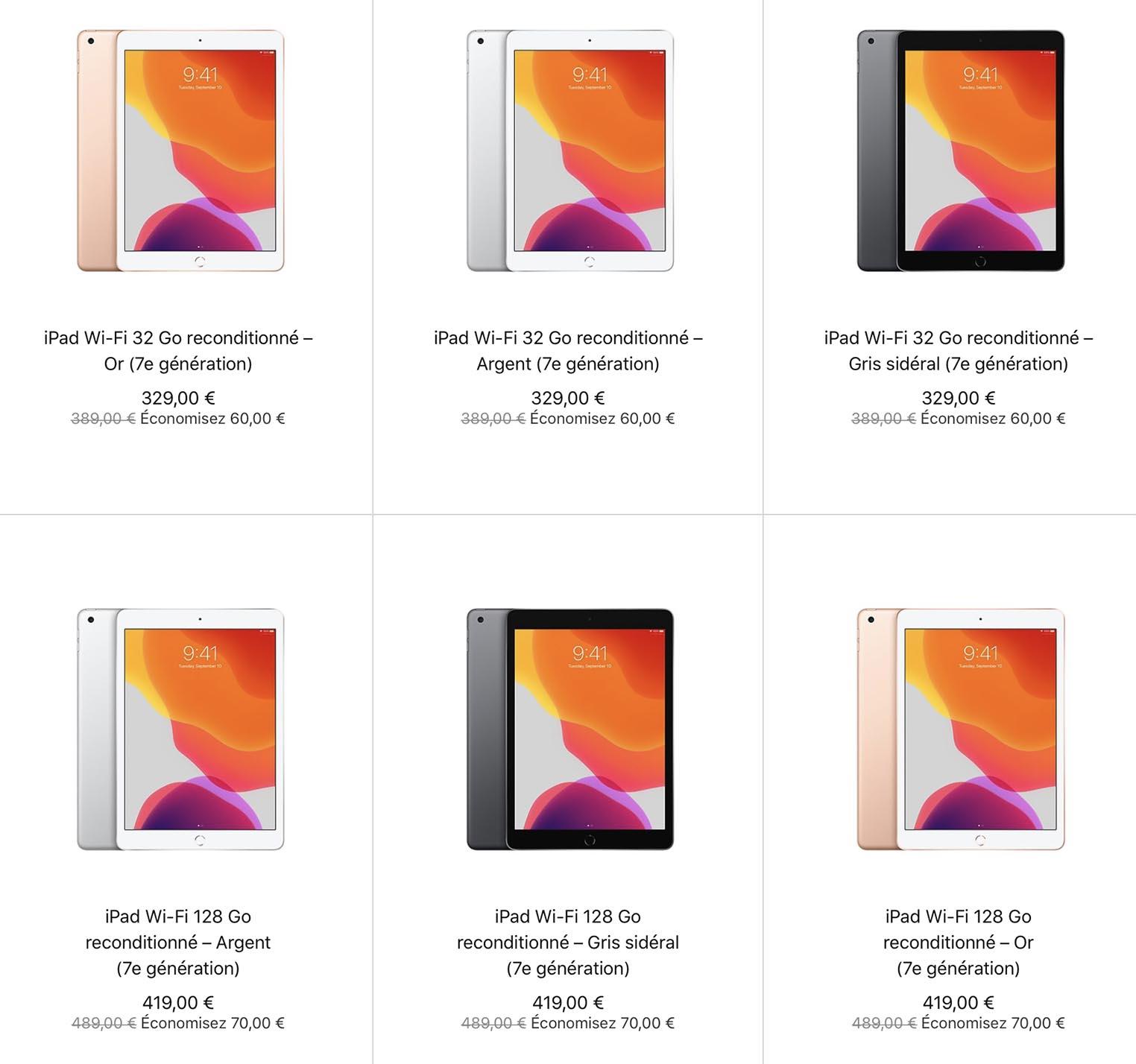 iPad 7 Refurb Store