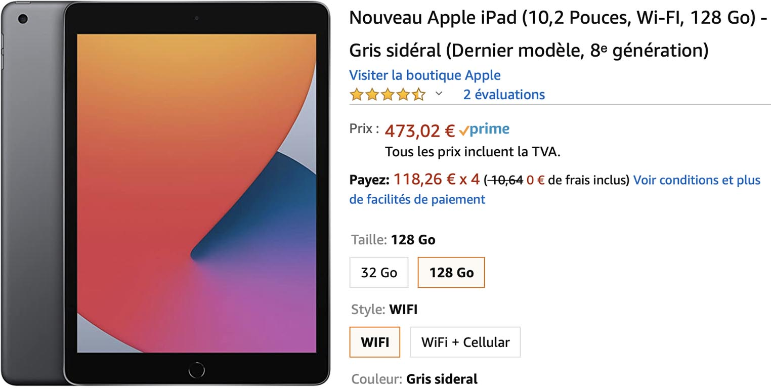 iPad 8 Amazon
