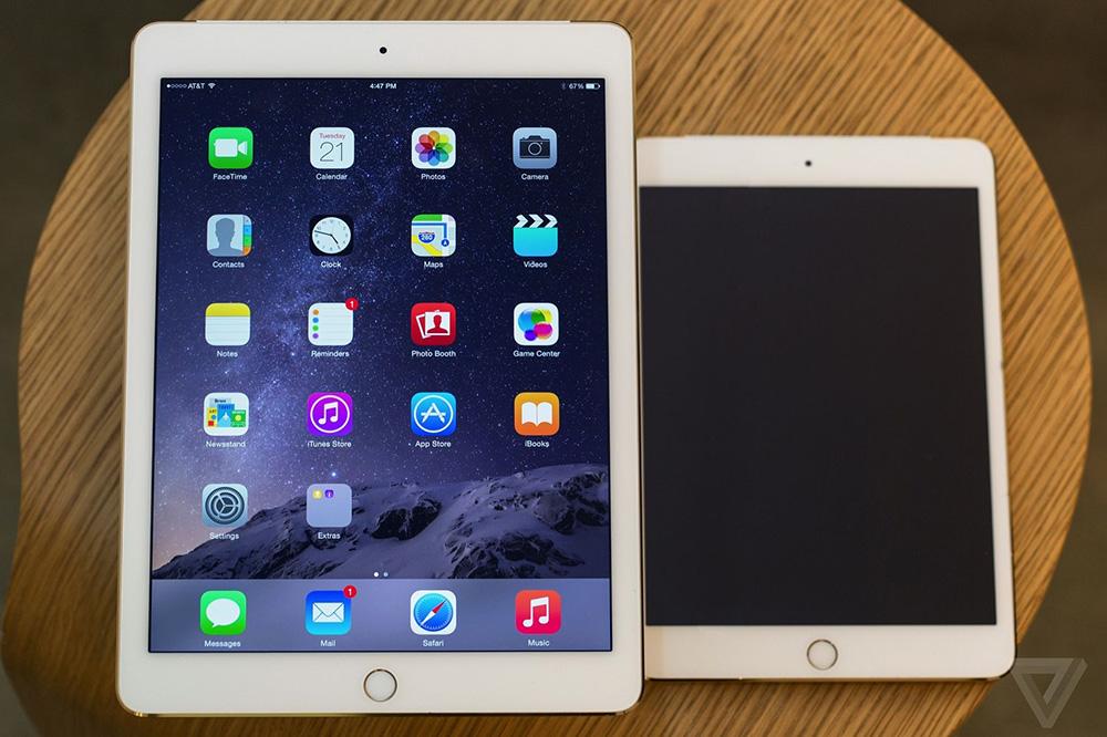 L iPad mini 3 ne fait pas beaucoup parler de lui, sa seule nouveauté étant l apparition  du capteur d empreintes digitales Touch ID, mais l iPad Air 2 est au ... 3007396c9c14