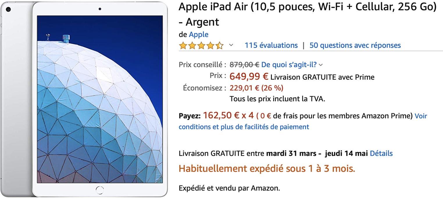 iPad Air 3 Amazon